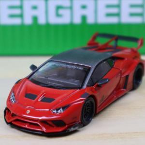 1/64 MINI GT LB★WORKS ランボルギーニ ウラカン GT ロッソマーズ