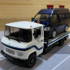 1/43 IXO メルセデスベンツ L608 D ウィンチトラック イクソ CLC336
