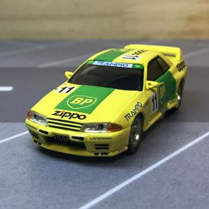 1/64 MINI GT Nissan スカイライン GT-R R32 全日本ツーリングカー選手権1993 Gr.A BP #11