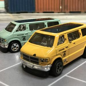 ホットウィール ダッジバン DODGE VAN 黄色 HW DRIFT イエロー yellow