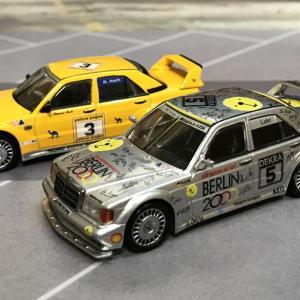 1/64 MINI GT メルセデス ベンツ 190E 2.5-16 エボリューション II DTM 1992 #5 Berlin