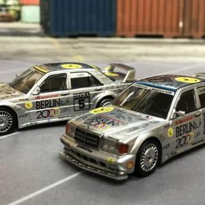 1/64 MINI GT メルセデス ベンツ 190E 2.5-16 エボリューション II DTM Zolder 1992 #6 Berlin 中国限定