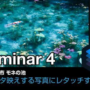岐阜・モネの池|Luminar4でインスタ映えする写真にレタッチ