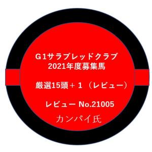 【G1サラブレッドクラブ】21年度募集馬厳選15頭+1(レビュー)