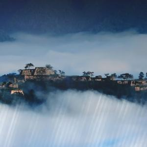 竹田城をお城巡り、山城を登山する!