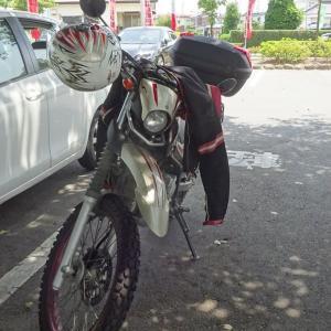 沼田にバイクツーリング、沼田城をお城巡り!