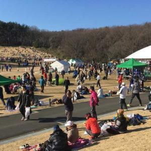 国営武蔵丘陵森林公園完走マラソン大会🏃♂️はレジャーシート持参で