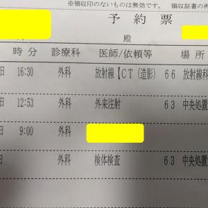 CT検査も終えカペシタビン服用期間を消化した現状報告