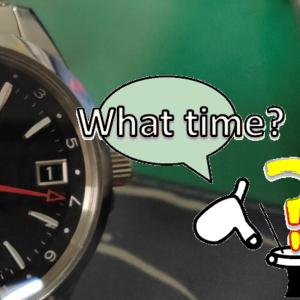 腕時計の日付を合わすと思うコト