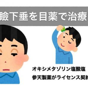 眼瞼下垂を目薬で治す