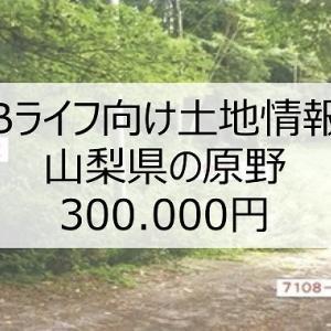 【Bライフ土地情報】山梨県北杜市【掘り出し物】