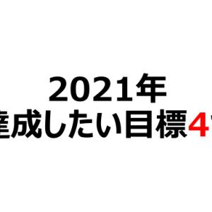 【新年挨拶】2021年に達成する目標4つ