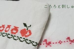 生成のリネンと25番刺繍糸|4年経過後こうなった。