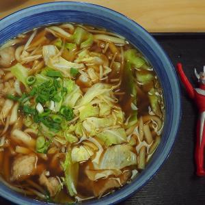 福智町の麺処弁天の弁天うどんとホルモンうどん