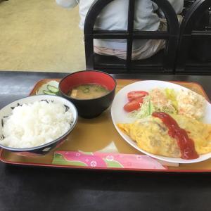 クックハウス マルヤでオムレツ定食を食す‼️