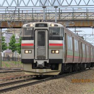 試1191列車はF2編成を連れて行った。6月3日(水)