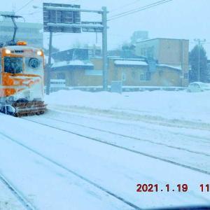 ささら電車。1月19日(火)