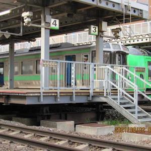 苗穂駅で人身事故。8月2日(月)