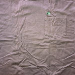 グレーのTシャツ 4