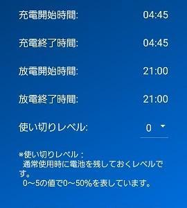 #21 一条・蓄電池の色々設定変更(休日停止等)しました in 広島