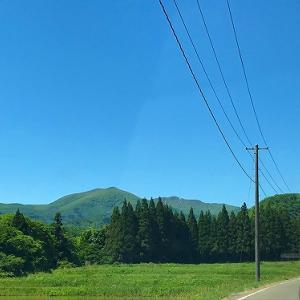 定義山の三角油揚げを食べにドライブ