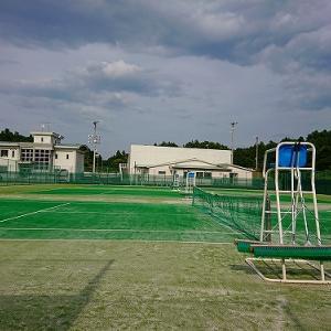 久しぶりのテニス