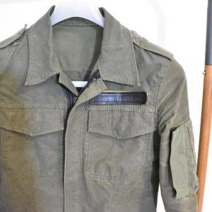 【BACKLASH】ユーズドミリタリーテントシャツ。