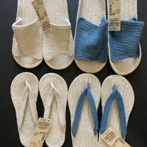 MUJI – Indian Cotton Blend ROOM SANDAL