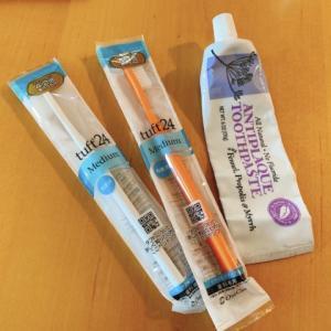 月初めは歯ブラシ交換日