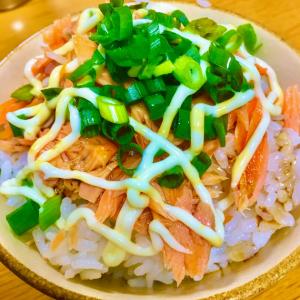 3/31 ~ 鮭マヨご飯 ~