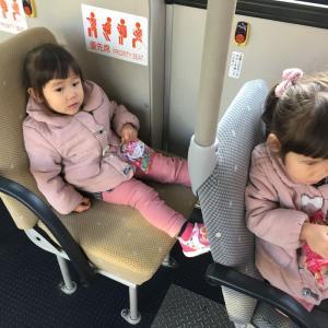 双子日記 初めてのバス