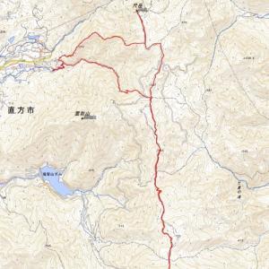 尺岳〜福智山周回ルート