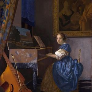 初来日「ヴァージナルの前に座る女」~ロンドン・ナショナル・ギャラリー~
