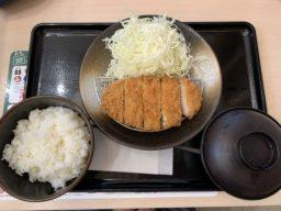 松のやのロースカツ定食を食す!