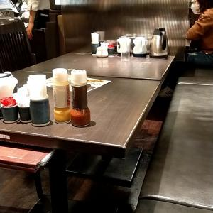 「とんかつ濱かつ 博多デイトス店」盛り合わせかつ膳は夜でもお得な定食です