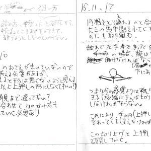 バンザイかペンギンかバンザイペンギンか_'15/11/10 , 11/17弓道練習メモ