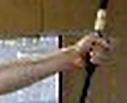 あごが浮いた射は単純にかっこよくないと思う_'16/1/28, 2/6 弓道練習メモ