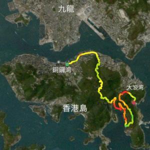 都会のオアシスとして有名な香港トレイルを行く