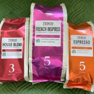 TESCOのコーヒー、安くて美味しい!