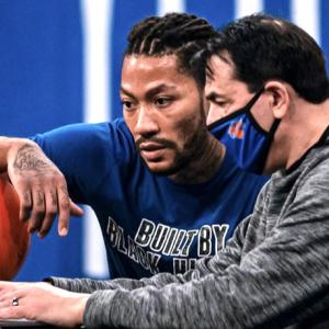 [NBA] ニックス 2020-21 デリック・ローズ「プレイオフに行けることがシックスマンよりハッピー」