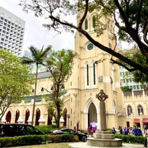 香港で一番古い教会堂!セント・ジョンズ教会〜St.John's Cathedral聖約翰座堂に行ってみた