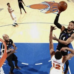 [NBA] ニックス プレイオフ2021 1回戦 第2戦vsホークス〜ローズとタージの思い