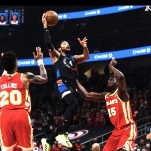 [NBA] ニックス プレイオフ2021 1回戦 第3戦vsホークス〜デリック・ローズがスタメンでシーズンハイ30得点