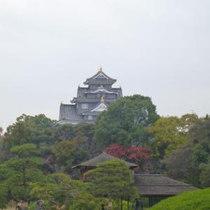 岡山城周辺を歩く