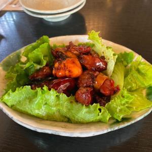 鳥モツ煮が美味しかった甲府のお蕎麦屋さん「奥藤本店」