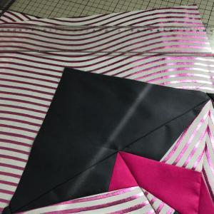 ピンクのウェーブ柄の帯♪