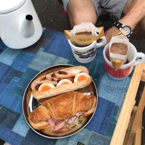 護摩屋敷の湧水☆自然の中で朝ごはんを食べよう♪