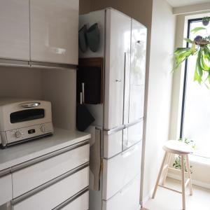 超便利‼冷蔵庫の隙間でランチョンマットをキレイに収納できる【tower ランチョンマット収納 ワイド】