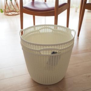 史上最高の洗濯カゴ【CURVER ラウンドバスケット】