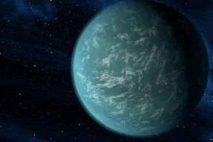 2万5千光年先で巨大な地球